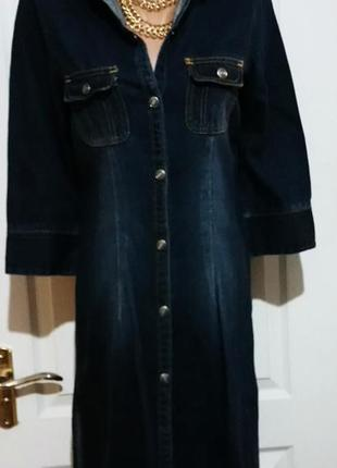 Джинсовое платье рубашка. lindex