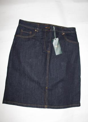 38 размер, 44. джинсовая юбка hobbs, оригинал, англия, качество