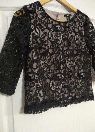 Ажурная блуза , кроп топ.2