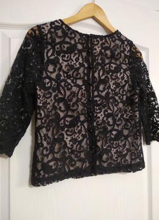 Ажурная блуза , кроп топ.3