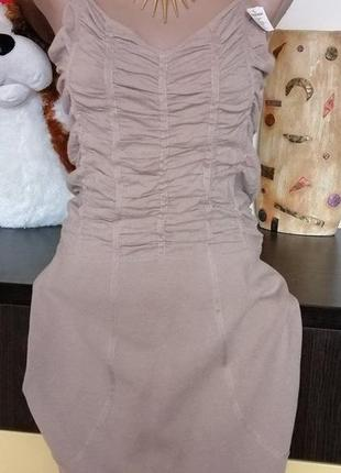 Стильное платье . нидерланды. 46-48 (см. замеры)