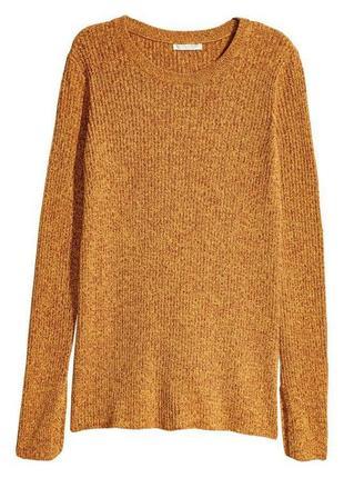 Свитер кофта оранжевого цвета h&m3 фото