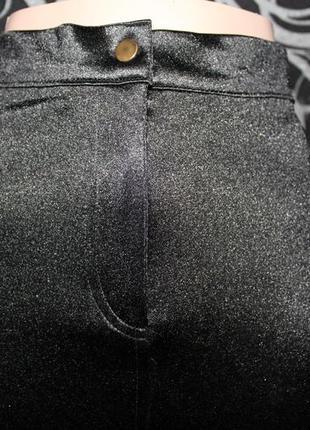 Размер 8, 42. изумительные облегающие брючки topshop, высокая посадка