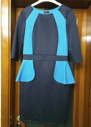Платье с баской 48-50 размер