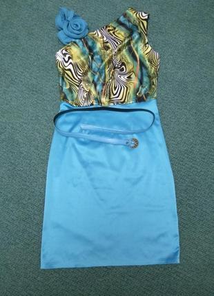 Платье для выпускного, коктельное платье лето 46-48