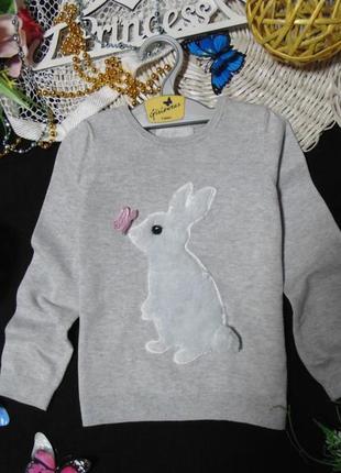 2-4года.гламурный тоненький свитерок h&m .mега выбор обуви и одежды!
