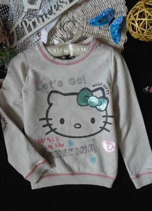 8-9лет.бомбезный свитшот george hello kitty .mега выбор обуви и одежды!
