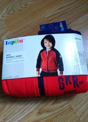 Толстовка капюшонка кофта фирмы lupilu