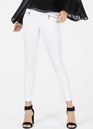 Белые штаны skinny