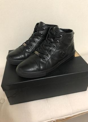 Стильные кожаные ботинки кроссовки деми santoro  g basconi 41 р.