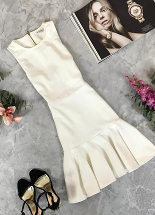 Игривое платье по фигуре с оборкой  dr1910126  miss selfidge
