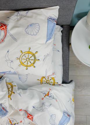 Детское постельное белье (дитяча постільна білизна) 100% хлопок с простынью на резинке