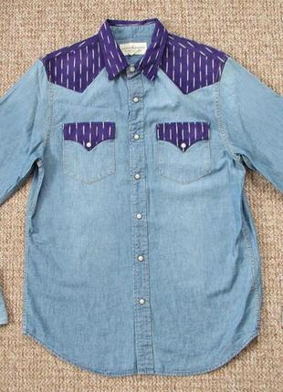d74e655dab7 Ralph lauren denim   supply джинсовая рубашка оригинал (m) сост.идеал