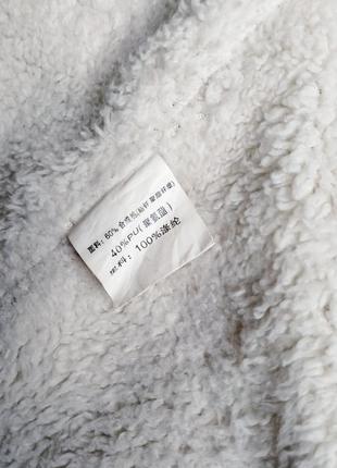 Демисезонная куртка косуха утепленная, из экокожи10 фото