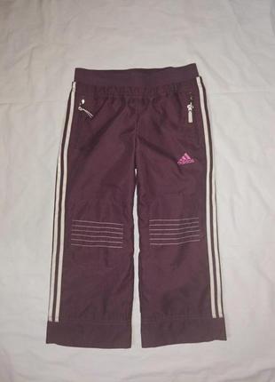 Adidas спортивные штаны на девочку р-р м,104 см,оригинал