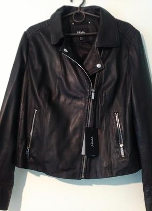 Кожаная куртка-косуха arma l