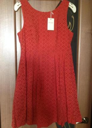 Терракотовое платье англия