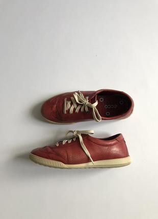 Кожаные  туфли  ecco, р. 38