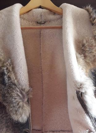 Натуральная дубленка, пальто, плащ5 фото