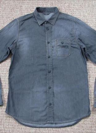 3bdc70afd78 Джинсовые мужские рубашки 2019 - купить недорого мужские вещи в ...