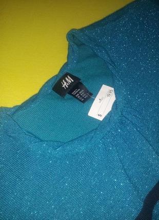 H&m свитер светр туника 8-10років3 фото