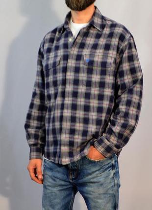 2721\60 рубашка в клетку timberland l