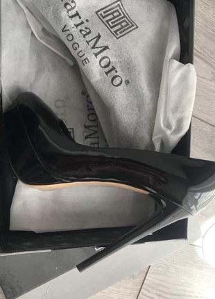 Кожаные туфли 36 раз