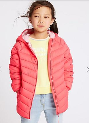 Стильненькая стеганая демисезонная курточка от marks&spencer, англия
