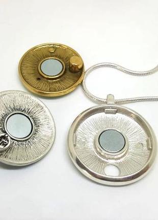 Универсальный магнитный кулон с 3-мя сменными монетками в наборе pilgrim дания2 фото