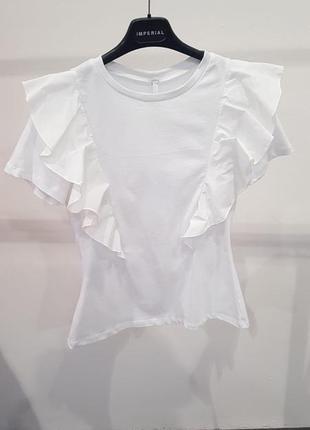 Блуза топ imperial италия нарядная и красивая