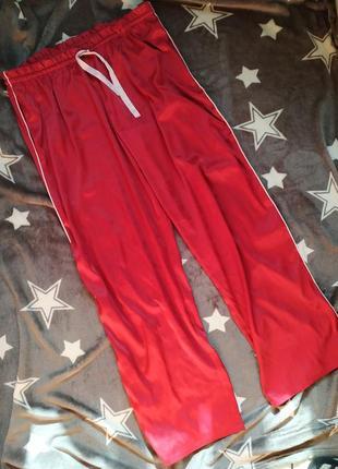 Victoria's secret пижамные атласные штаны