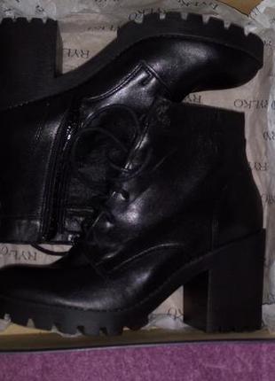 Кожанные ботинки rylko 36р.