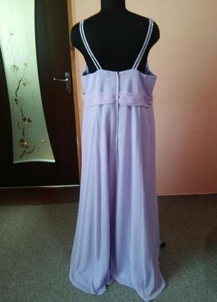Красивое вечернее нарядное платье в пол большого размера 18/225 фото