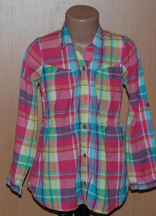 Блуза/туника на девочку бренда george / 100%хлопок/