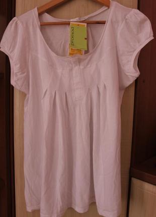 Біла футболка promod