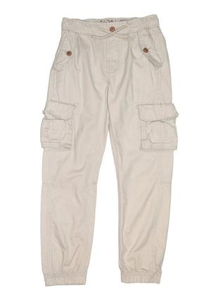 Новые бежевые брюки-карго для мальчика, ovs kids, 2187065