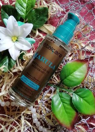 Профессиональные восстанавливающие жидкие кристаллы vitalcare marula oil 100 ml