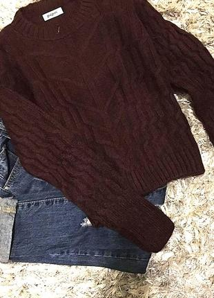 Мягенький шерстяной свитерок по супер цене (новый!)
