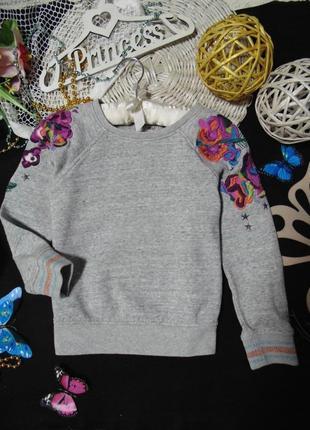 6лет.моднячий свитшот i love next.mега выбор обуви и одежды