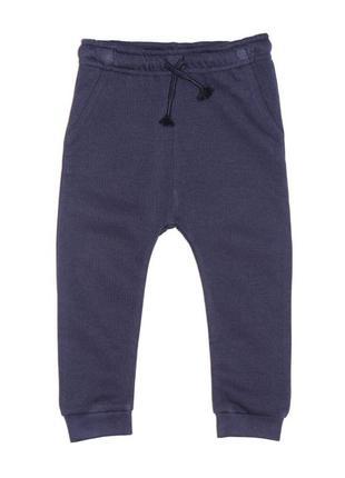 Новые брюки синие на байке для мальчика, george, 6236520