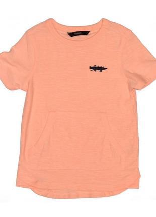 Новая оранжевая футболка для мальчика, george, 161018