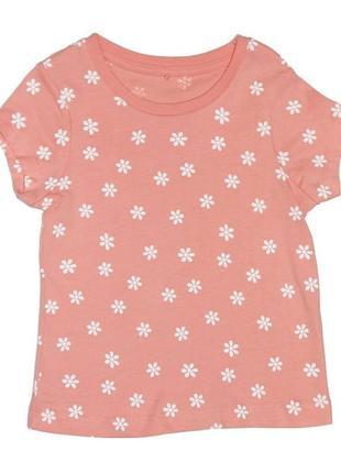 Новая футболка с мелким принтом для девочки, george, 021020