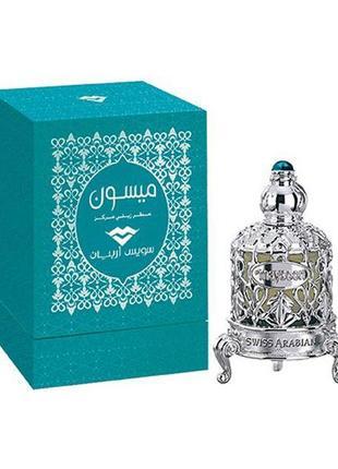 Арабские масляные духи (концентрированные), swiss arabian, maysoon, 15 мл, без спирта