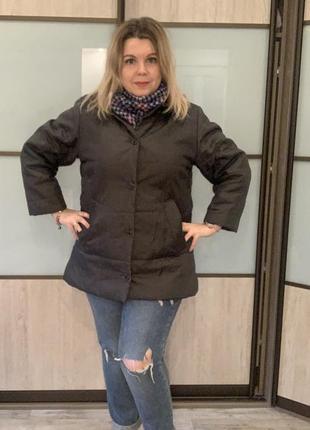 Куртка бойфренд италия большого размера xl ветровка батал