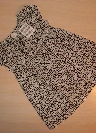 Нарядное платье, сарафан h&m, 6-9 мес 68-74 см, оригинал