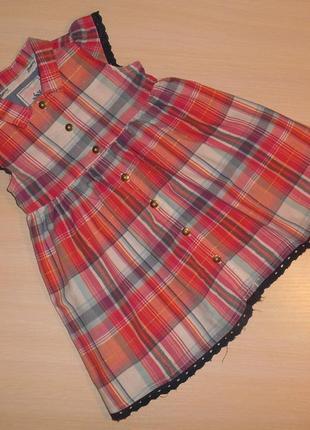 Оригинальное платье, сарафан george 9-12 мес 74-80 см