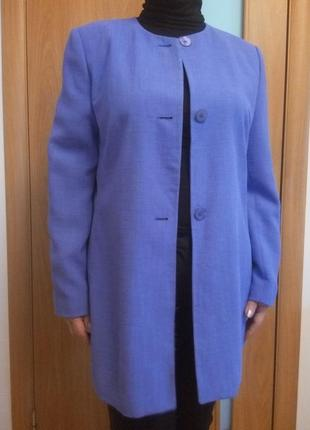 Пиджак фиолетовый лиловый 12-14 р хл