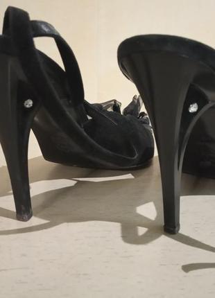 Италия franco paolucci туфли замшевые
