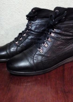 Ботинки кожа деми
