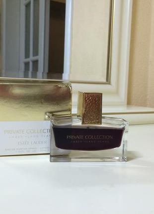 Духи estee lauder private collection amber ylang ylang, пв 30 мл